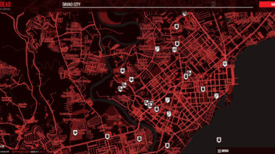 Survive a Zombie Apocalypse with This Map's help