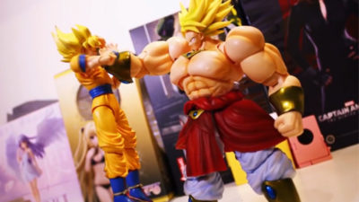 Goku vs Broly vs Animator – Stop-Motion Video Animation