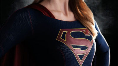 First Photos of Melissa Benoist in Costume for Supergirl TV Series