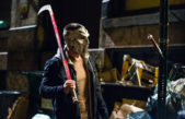 First Images of Stephen Amell as Casey Jones in TMNT 2