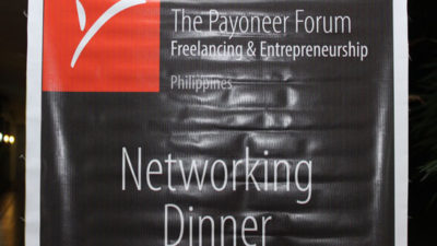 Payoneer Networking Dinner Davao – Learning About the Service