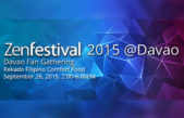 Join ZenFestival 2015 Davao Fans Gathering at Rekado