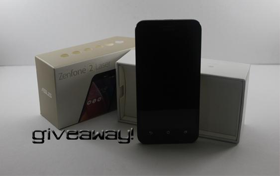 Giveaway – Asus Zenfone 2 Laser (ZE500KL)