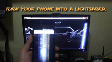 Turn Your Phone Into a Lightsaber