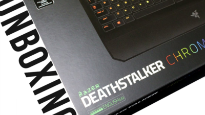 Unboxing the Razer Deathstalker Chroma Gaming Keyboard