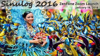 ASUS Launches the Zenfone Zoom during the Sinulog 2016