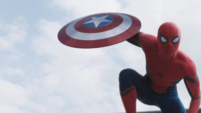 New Captain America: Civil War Trailer Features Spider-Man