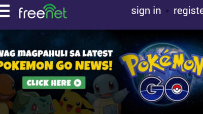 Get the Most out of Your Pokemon GO with Freenet and PayMaya