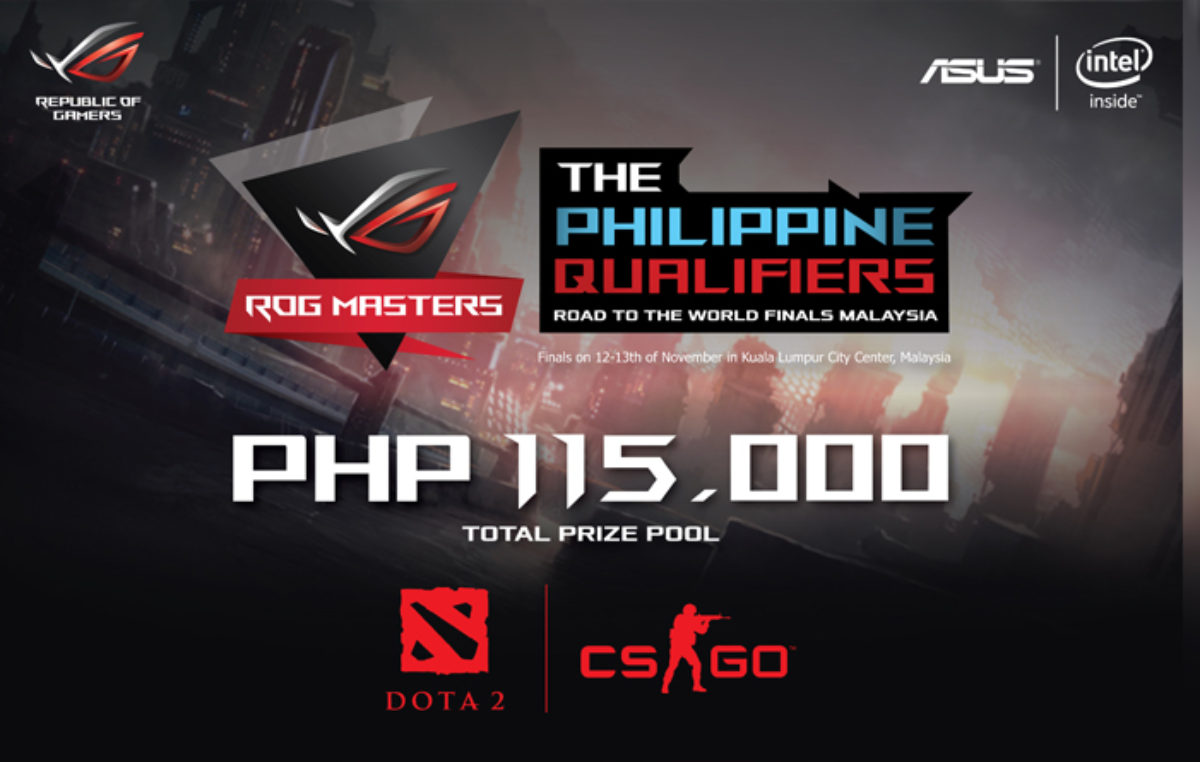 ASUS Announces the ROG Masters 2016 Gaming Tournament