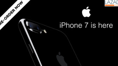 The iPhone 7 is Now Available for Pre-Order on Lazada