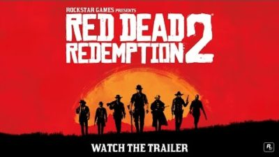 Check Out the first Trailer for Red Dead Redemption 2