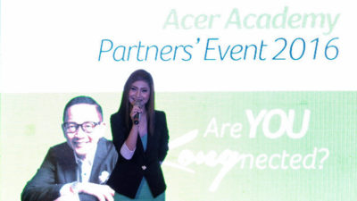 Acer Academy Meets with Davao School Partners with Francis Kong