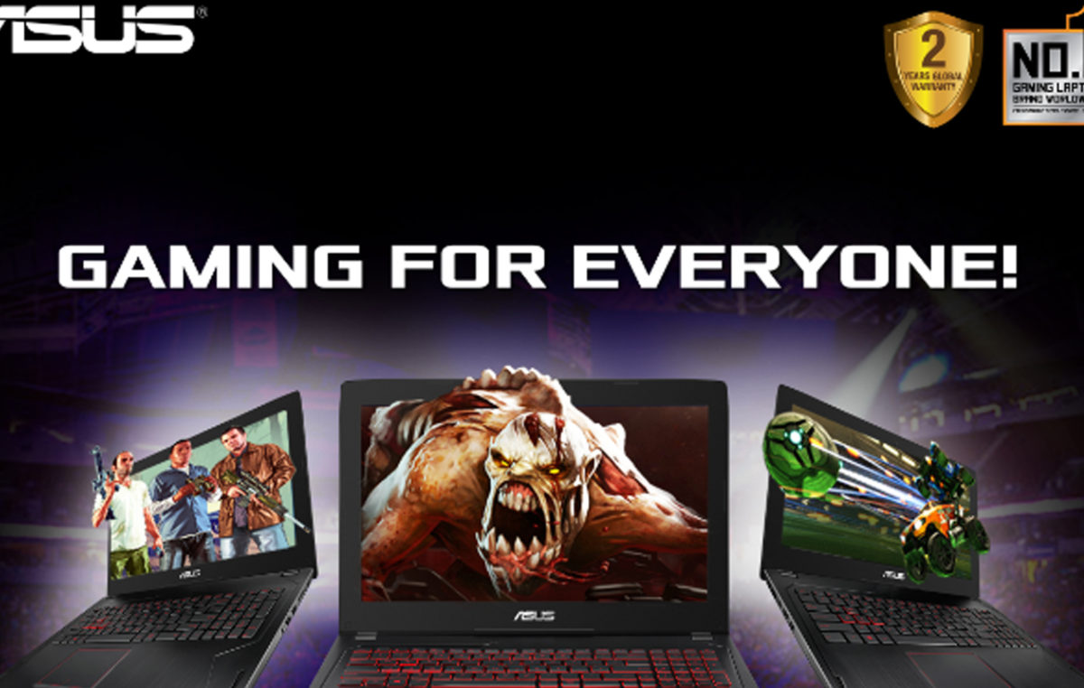 Introducing the ASUS FX502, their Most Affordable Gaming Laptop Yet