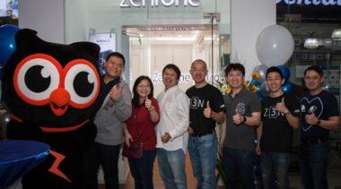 First Zenfone Concept Store Opens