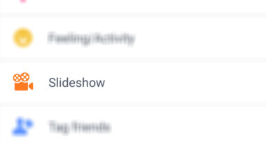 Have You Tried Facebook's Slideshow Feature?