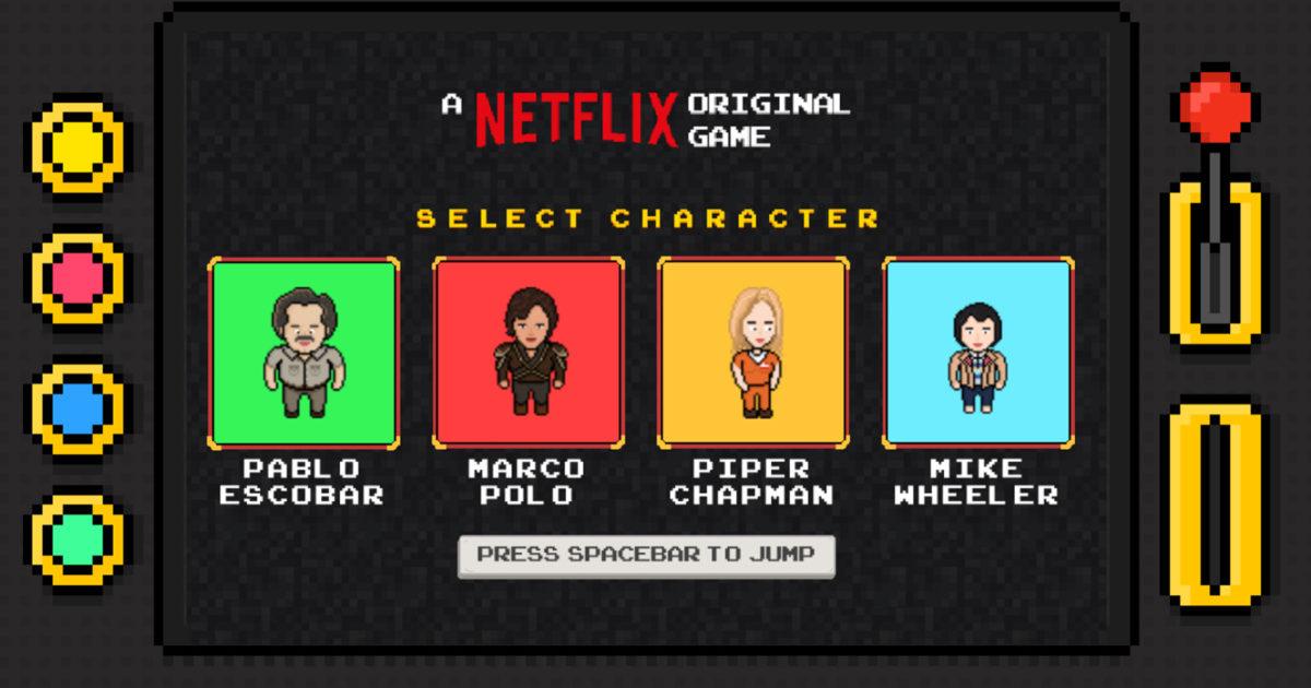 Netflix made an 8-bit Browser Game