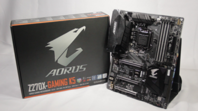 Gigabyte Aorus Z270X Gaming K5 Motherboard Quick Unboxing