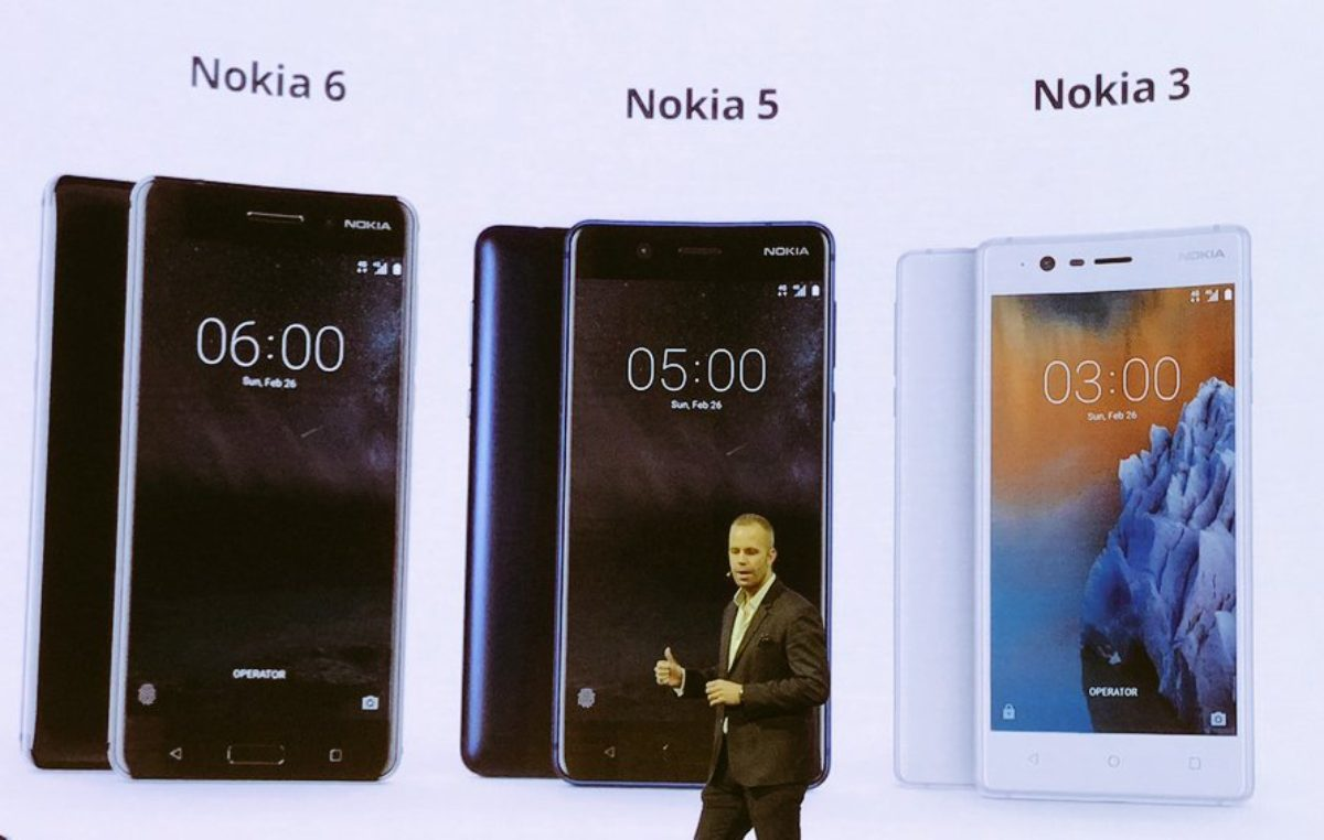 Nokia Introduces the Nokia 6, 5, and 3 that's Powered by Android