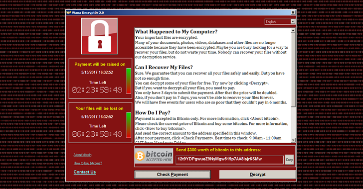 WannaCry Ransomware 2