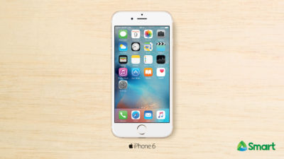 Get the iPhone 6 for Only Php 999 per Month under Smart Postpaid