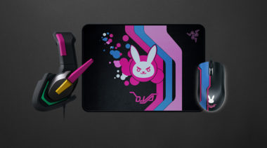 Overwatch Themed D.Va Razer Gaming Peripherals Announced