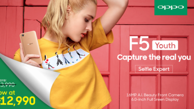 OPPO PH Drops Its Prices – OPPO F5 Youth Now at Php 12,990