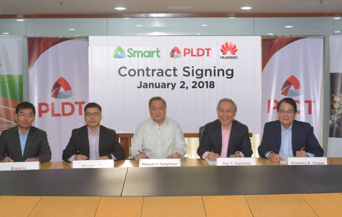 PLDT-Huawei Partnership to Improve Wireless Services Delivery