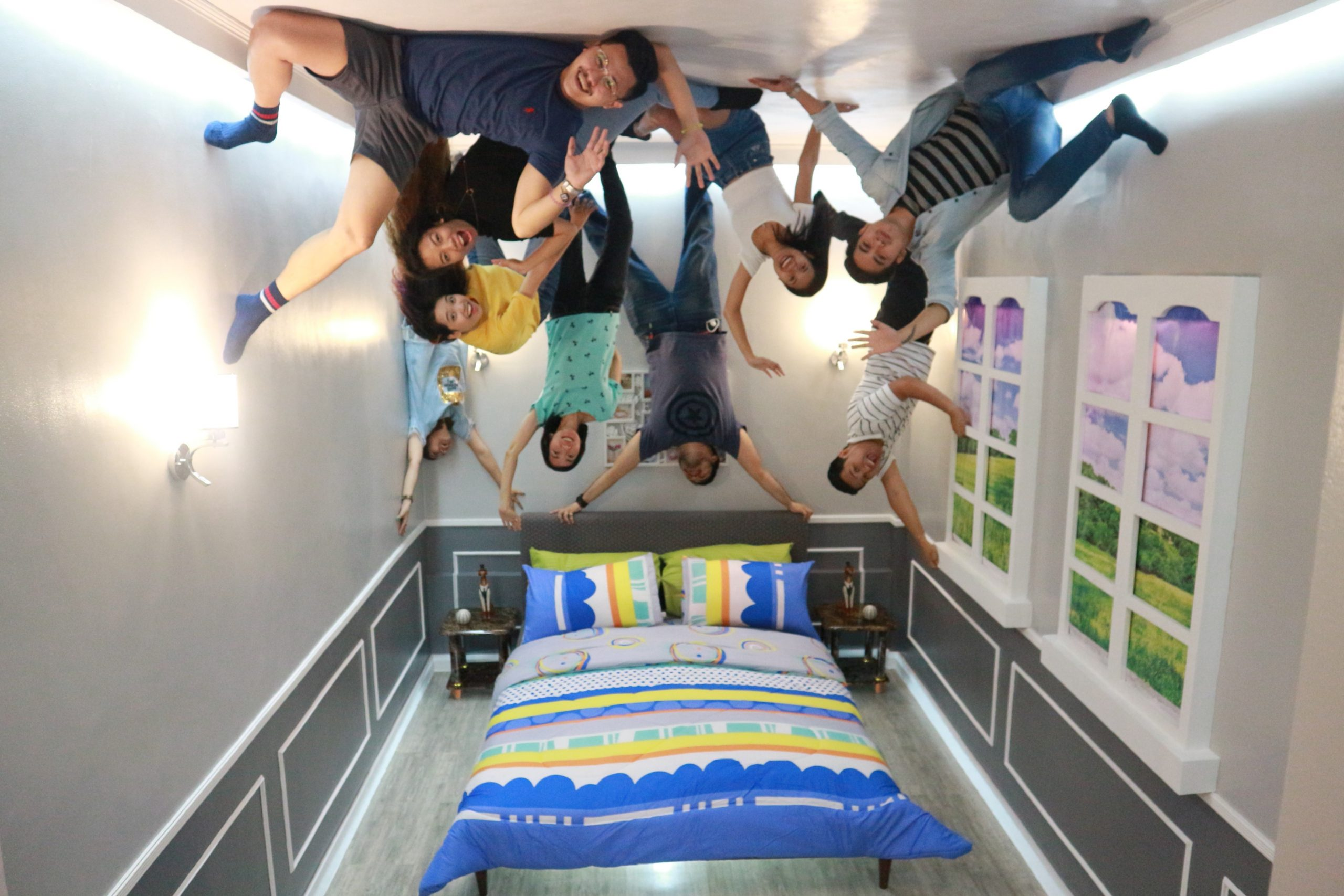 Check Out the First Upside Down House Museum in Davao on upside down exercise, upside down snowman, upside down sit-ups, upside down train, upside down ten mean, upside down dogs, upside down photography, upside down christmas,
