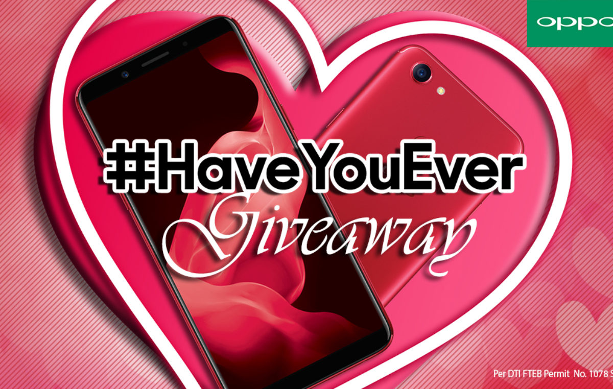 Gather your Hugots with the OPPO #HaveYouEver Valentine's Day Promo