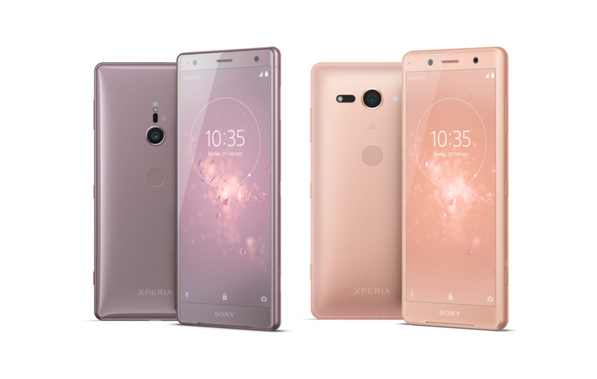 Sony Launches the Xperia XZ2 and Xperia XZ2 Compact