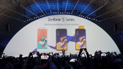 ASUS Zenfone 5, 5z, and 5 Lite (5q) Unveiled at MWC 2018