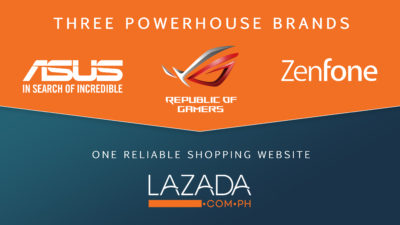 ASUS Partners with Lazada, Opens Three ASUS Online Concept Stores