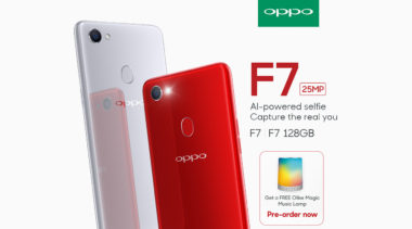 The OPPO F7 is Now on Pre-Order, Priced at Php 17,990