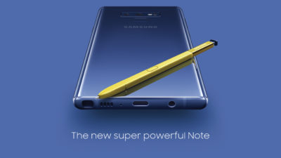 Samsung Outs the Galaxy Note 9, for Those Who Want It All