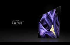 Sleek Sophistication – Introducing the Sony BRAVIA OLED A9F
