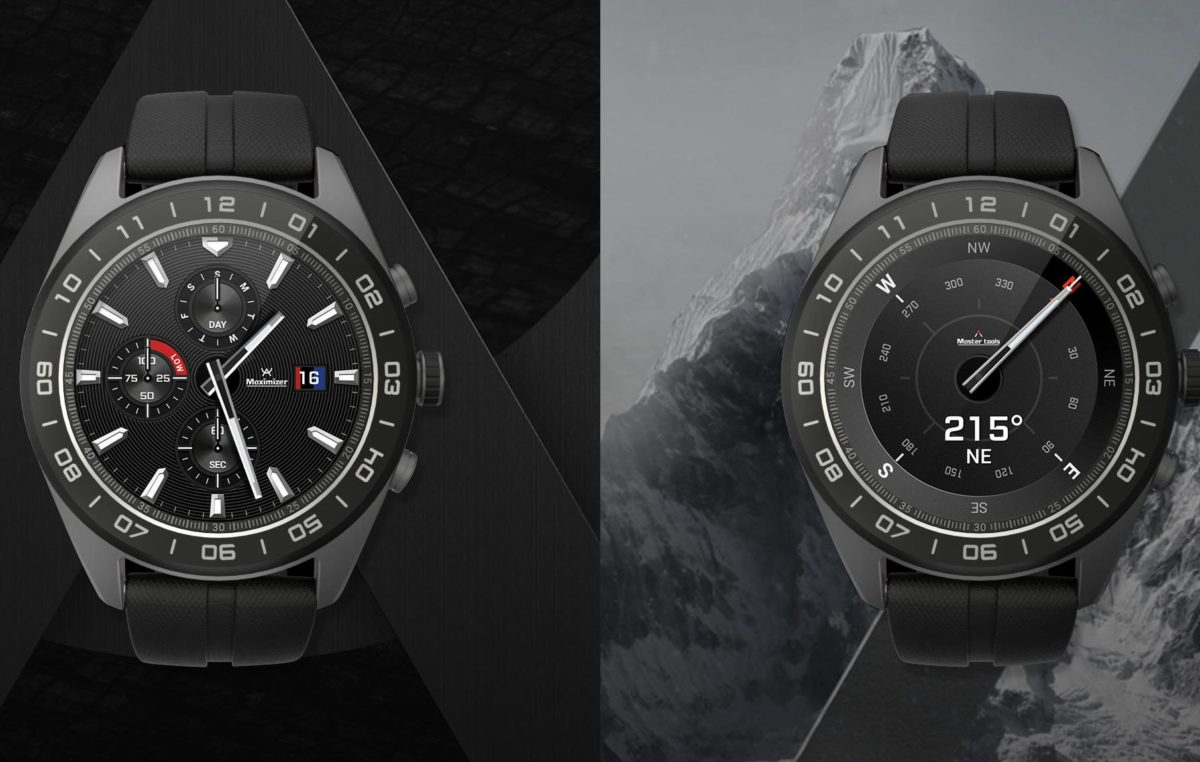Introducing LG's New Watch W7 Hybrid Smartwatch