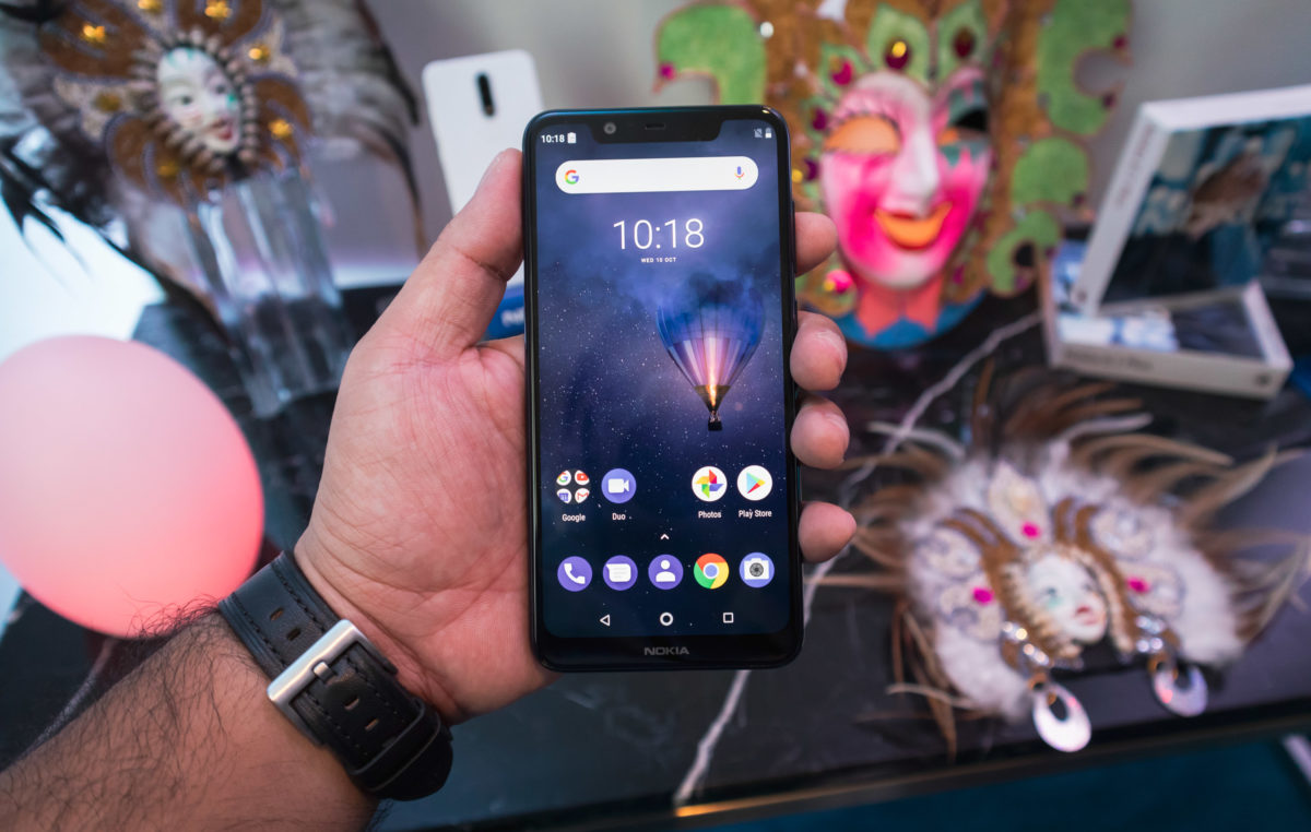 Nokia 5.1 Plus Android 9 Pie at the Beginning of the Year