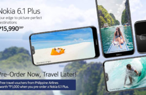 Get Php 1000 Travel Voucher When You Pre-Order a Nokia 6.1 Plus