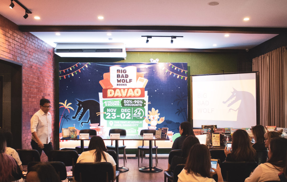 The Big Bad Wolf Book Sale is Here in Davao City