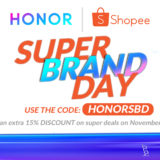 Honor Phones on Sale at Shopee's Super Brand Day Sale