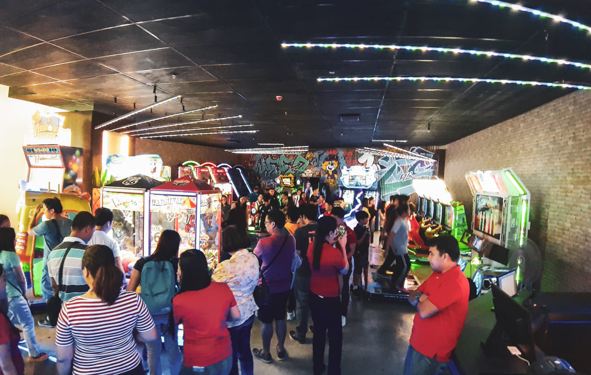 Tap 'N Play Arcade Opens at NCCC Mall Buhangin