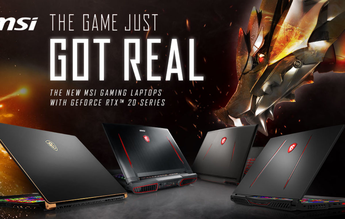 Here are the List of MSI RTX Gaming Laptops Announced at CES 2019