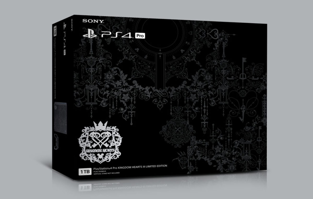 Playstation 4 Pro Kingdom Hearts III Limited Edition coming to PH