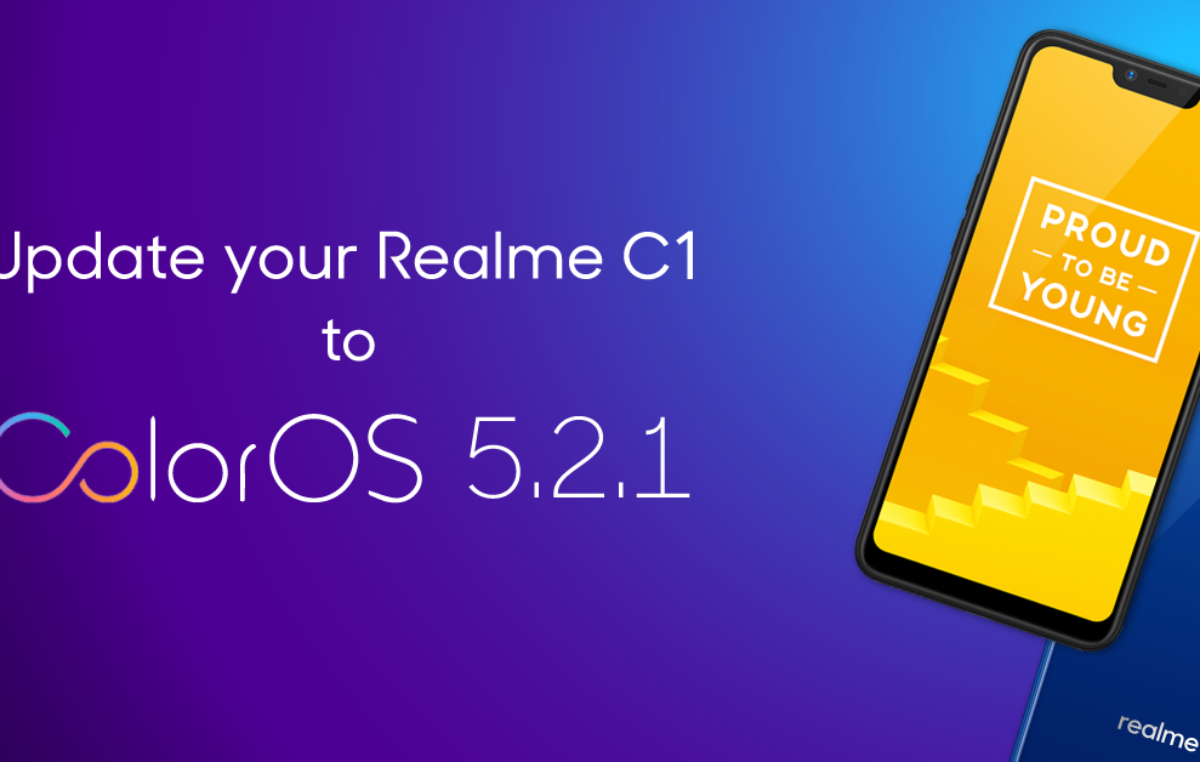 ColorOS 5.2.1 Update for the Realme C1 Now Available for Download