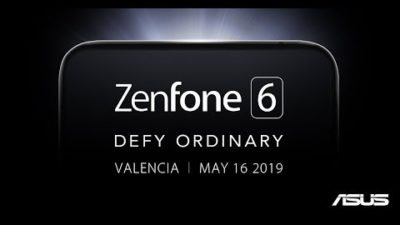 ASUS Teases Zenfone 6 that's Coming on May 16, 2019