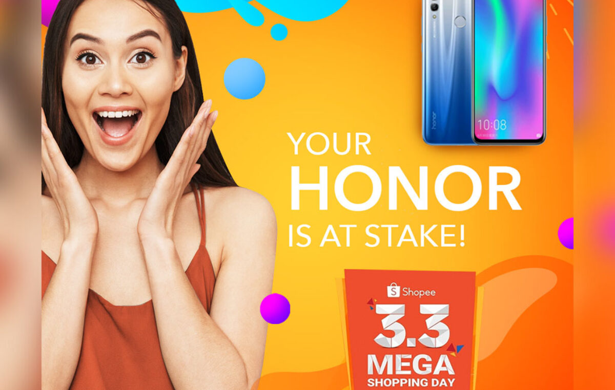 HONOR Phones on Sale for Shopee's 3.3 Mega Shopping Day